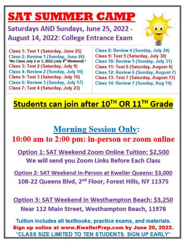 SAT-Summer-2022-Weekends